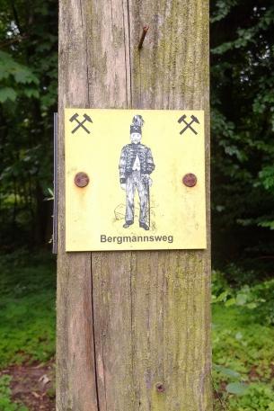 Der Bergmannsweg führt auch durch den Osterberg